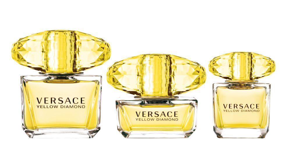 Versace Yellow Diamond Intense với mùi nước hoa ngọt dịu