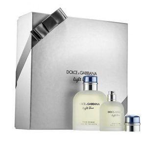 D&G Light Blue Pour Homme Gift Set 2PC