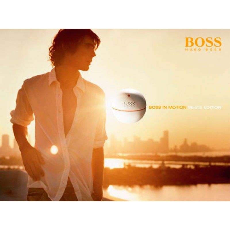 nam tính cùng Hugo Boss In Motion White Edition