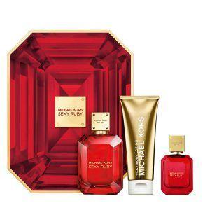 Michael Kors Sexy Ruby Gift Set 3PC