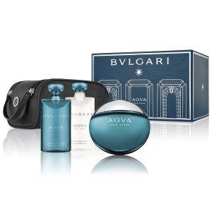 Bvlgari Aqua Pour Homme Gift Set 4PC