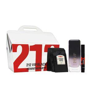 Bộ nước hoa Carolina Herrera 212 Vip Black 3PCs