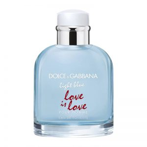 D&G Light Blue Men Love is Love