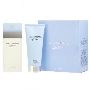 D&G Light Blue Travel Edition Set 2PCs