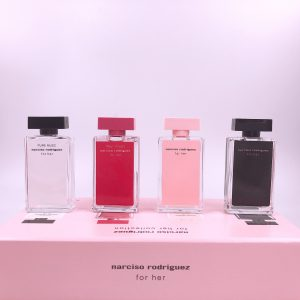 Narciso Rodriguez Set 7,5ML 4PC (For Her EDT + For Her EDP + Fleur Musc + Pure Musc)